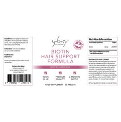 Yobogu Biotin Hair Support Formula
