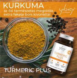 Yobogu Turmeric Plus - kurkuma és fekete bors kapszula