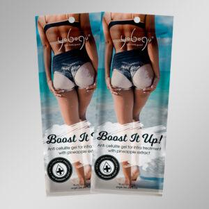 Boost It Up - 2 in 1 natúr vegán zsírbontó és testápoló - 15 ml