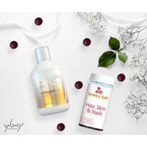 Kollagén Szépségcsomag - 1 db Collagen Luxe + 2 db Hair, skin & nails gumivitamin (Extra biotin!)