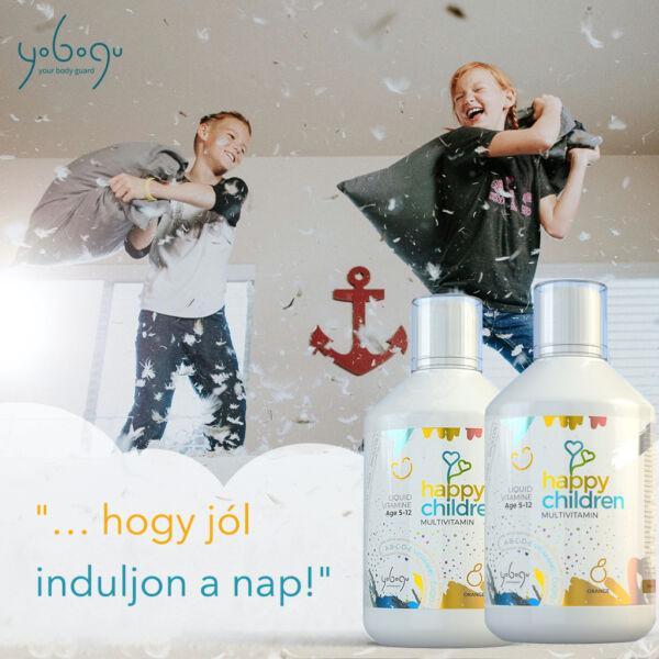 Tripla csomag - folyékony vitamin gyerek csomag - 3x500 ml