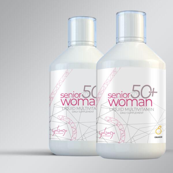 Senior Woman 50+ - folyékony vitamin - 500 ml
