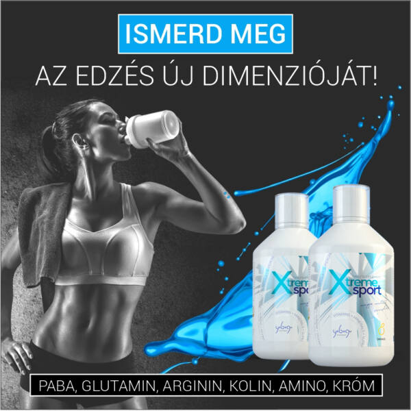 Tripla csomag - folyékony vitamin sport csomag - 3x500 ml