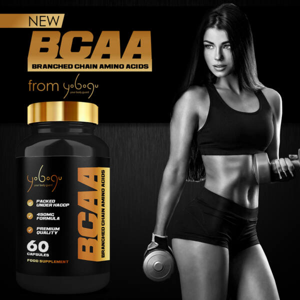 BCAA - Branched Chain Amino Acids – kapszulás vitamin - 60 db
