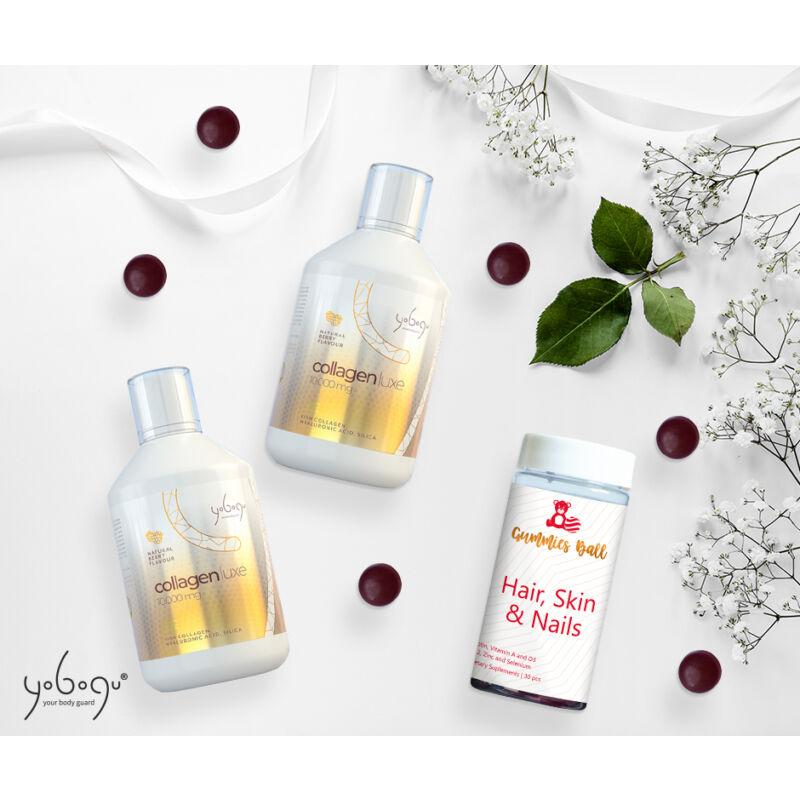 Kollagén Szépségcsomag - 2 db Yobogu Collagen Luxe +1 db gumivitamin