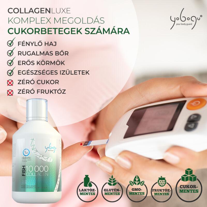 Yobogu Collagen Luxe mg | Folyékony halkollagén vitamin