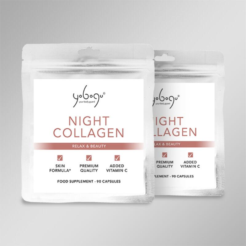 Dupla adag Night Collagen - Támogasd a szervezeted alvás közben folyamatos 15% kedvezménnyel!