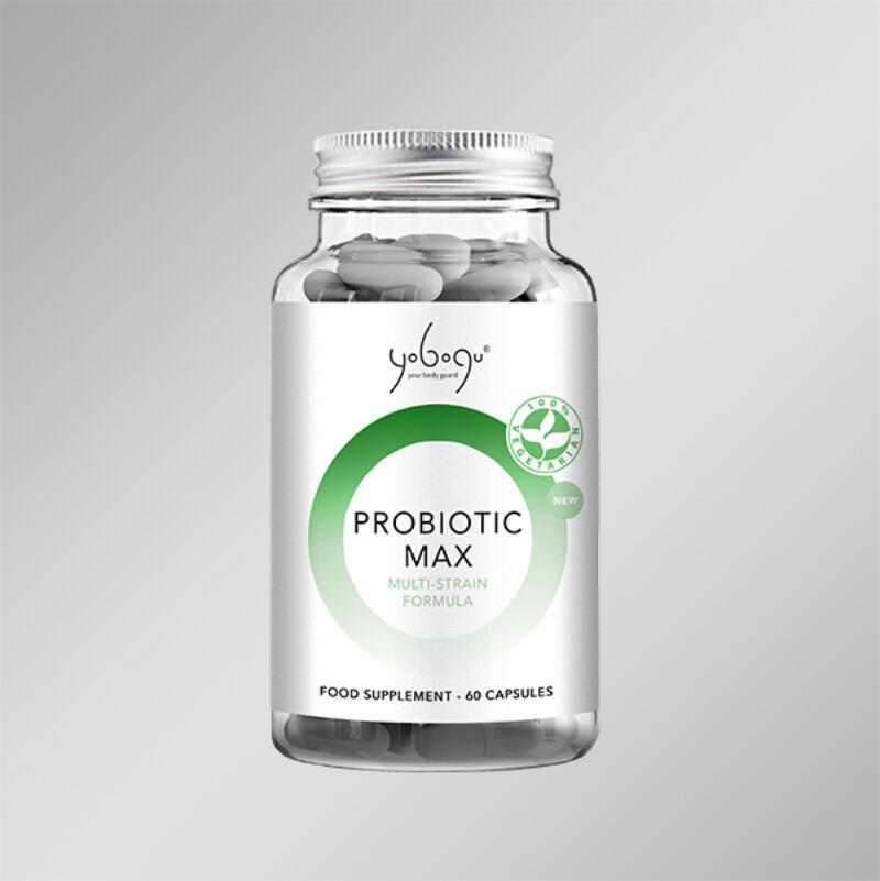 Probiotic Max- Natúr vegán kapszula az egészséges bélflóráért