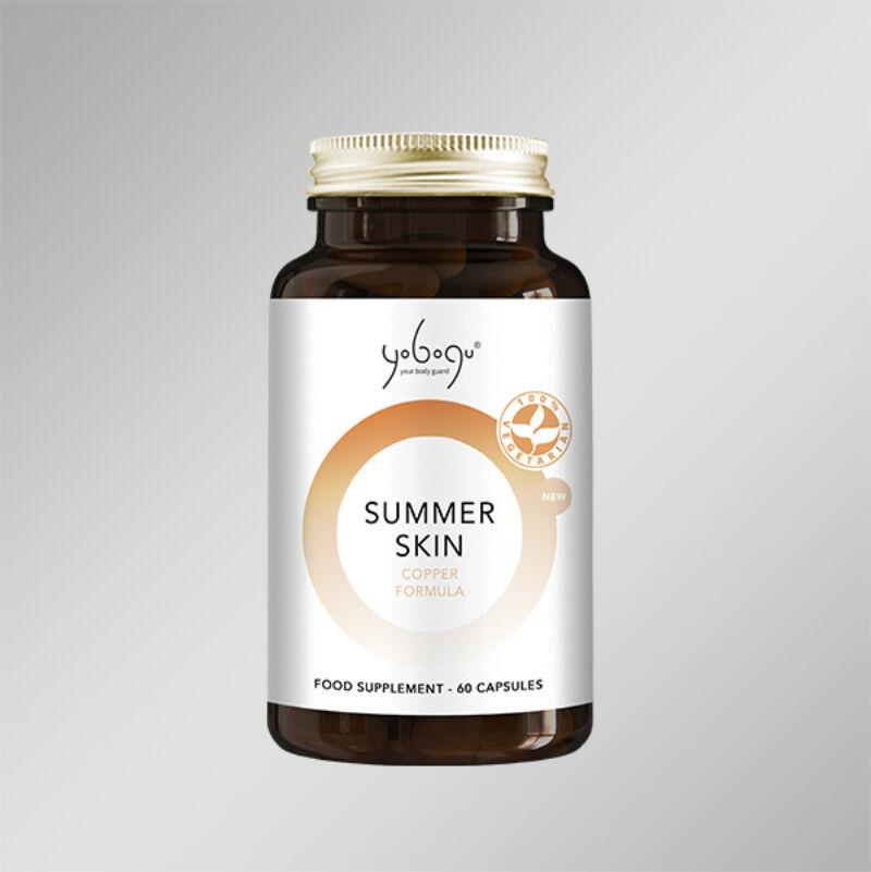 Yobogu Summer Skin - Natúr Vegán kapszula az egyenletes bőrszínért