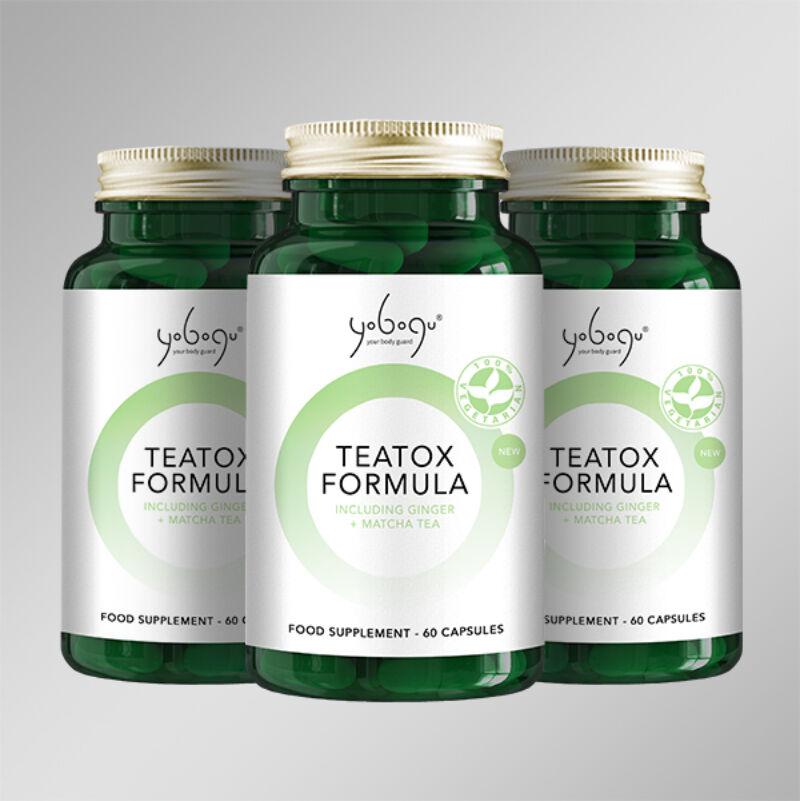 Yobogu Tea Tox Formula - méregtelenítés, feszes bőr..