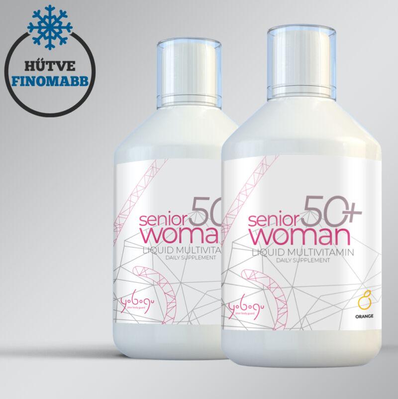 Senior Woman 50+ - folyékony vitamin - kollagénnel - 500 ml