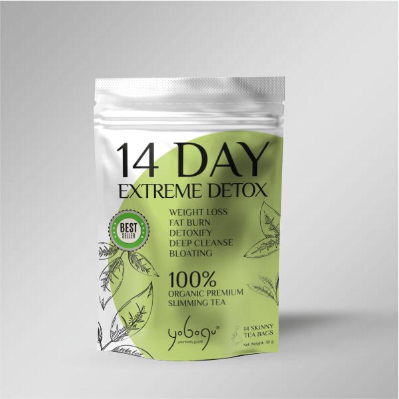 Yobogu Extreme Detox Tea csomag