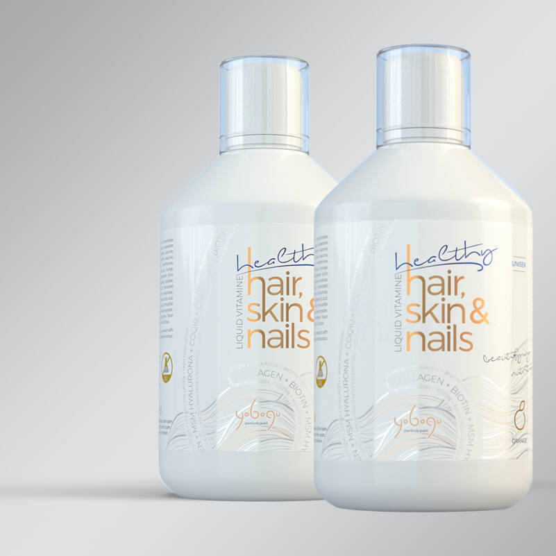 Healthy Hair, Skin & Nails -  folyékony vitamin - 500 ml