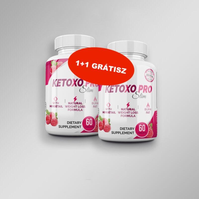Keto Diéta csomag - Ketoxo Pro Slim - kapszulás vitamin - 2x60 db