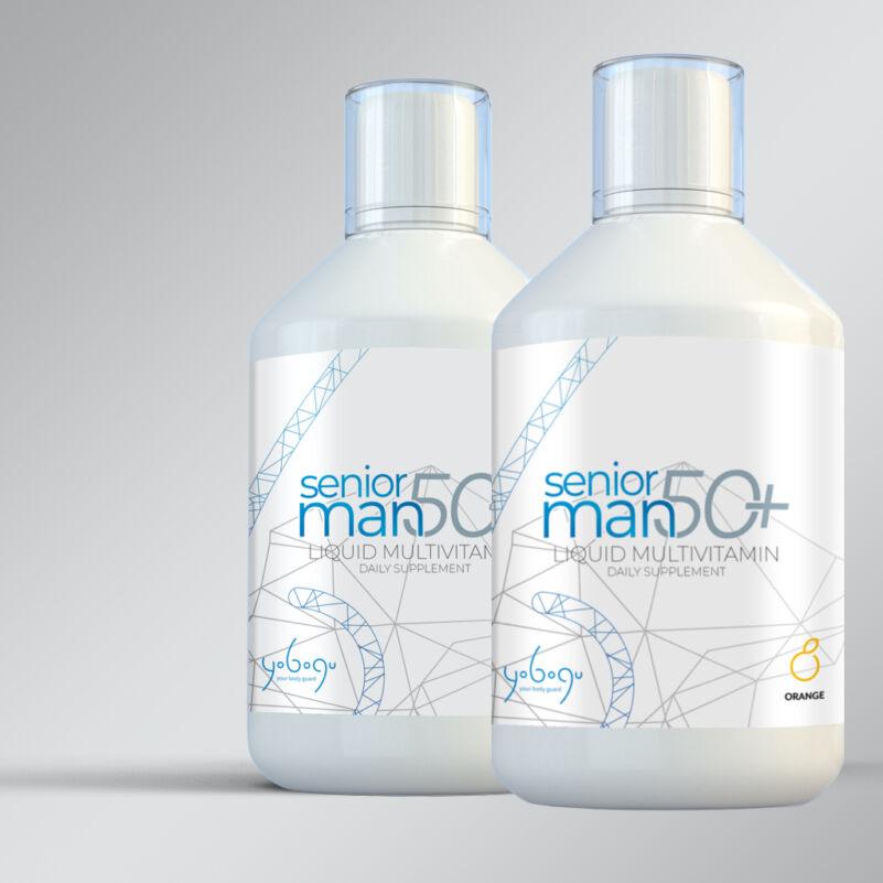 Senior Man 50+ - folyékony vitamin - 500 ml