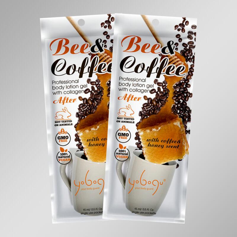 Bee & Coffee - natur vegán luxus testápoló krém - 15 ml