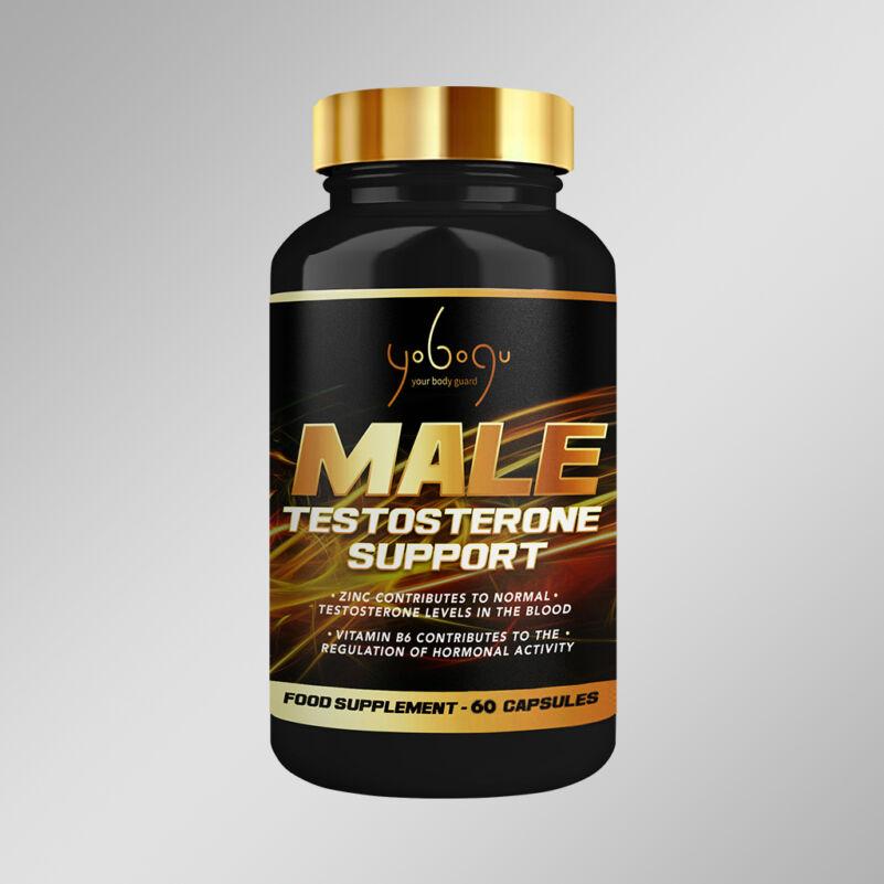 Male – Testosterone Support – kapszulás vitamin - 60 db