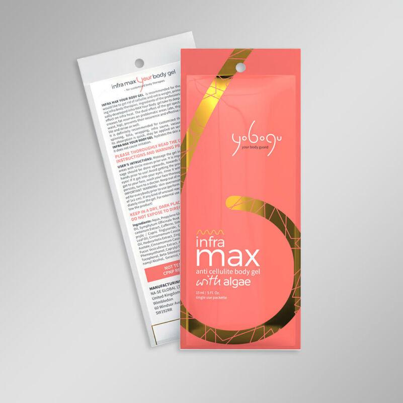 Infra Max Nude Color - zsírégető krém - 15 ml