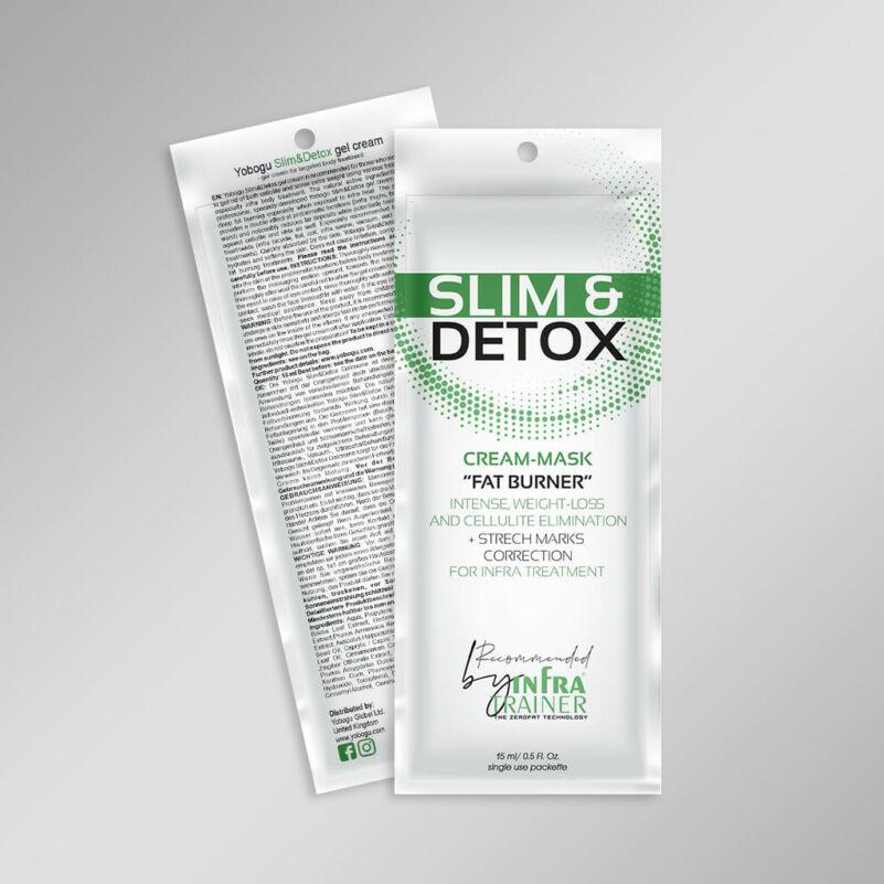 Slim & Detox - zsírégető krém - 15 ml