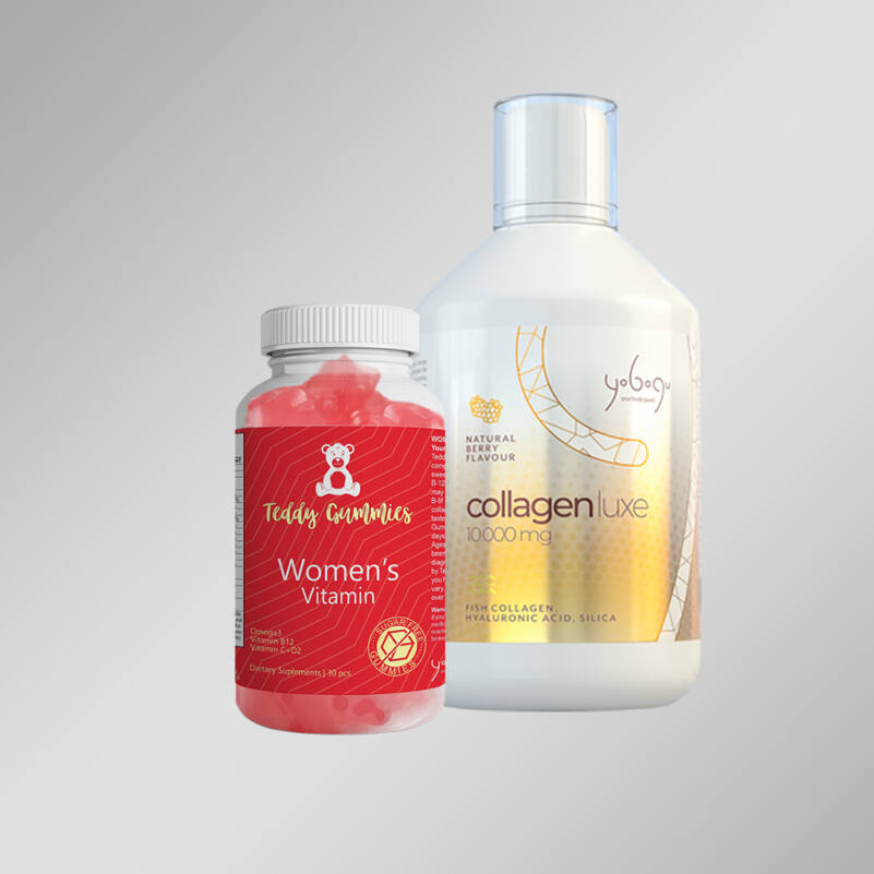Collagen Luxe 10000 mg - folyékony vitamin + ajándék gumivitamin - 500 ml + 30 db