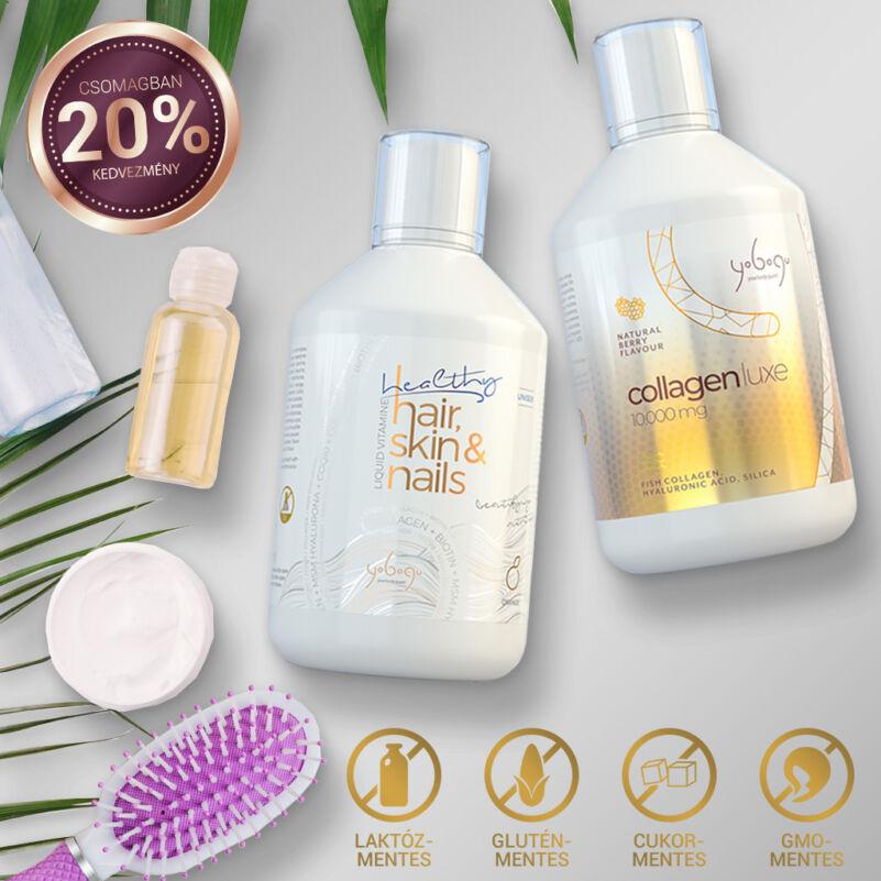 Beauty csomag  - folyékony vitamin szépségcsomag - 2x500 ml