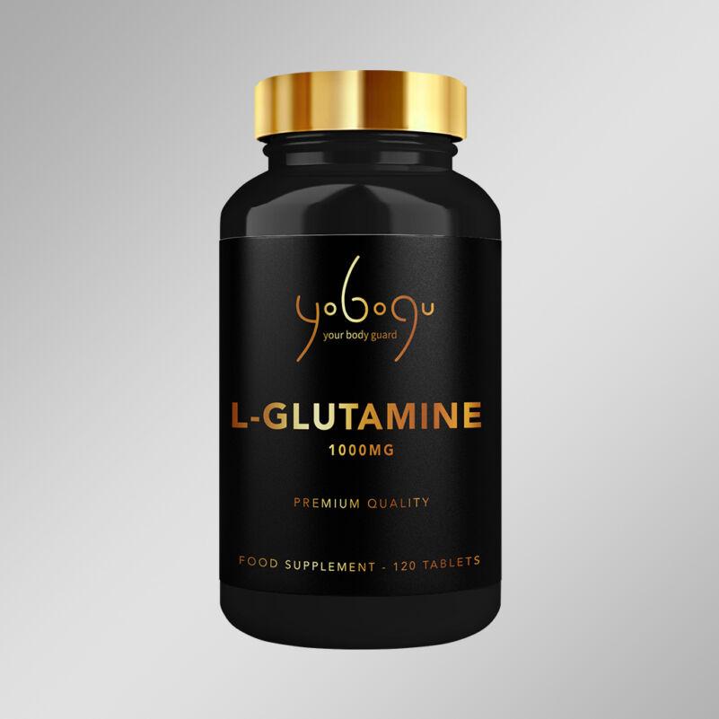 L-Glutamine 1000 mg – kapszulás vitamin - 60 db